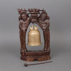 Large temple bell - China - c. 1920–1940