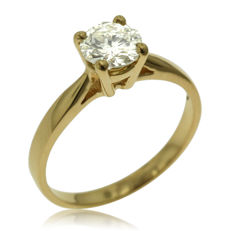 Classic 0.86ct Diamond Solitair