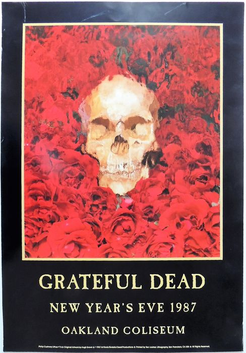 SKULL Dance Concert 1987 Grateful Dead USA