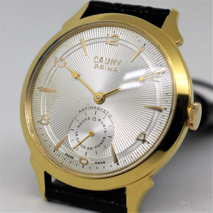 Cauny Prima Jumbo 40mm – Men's Wristwatch