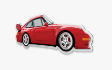 Halmo Collection Porsche 993 RS plexiglass model