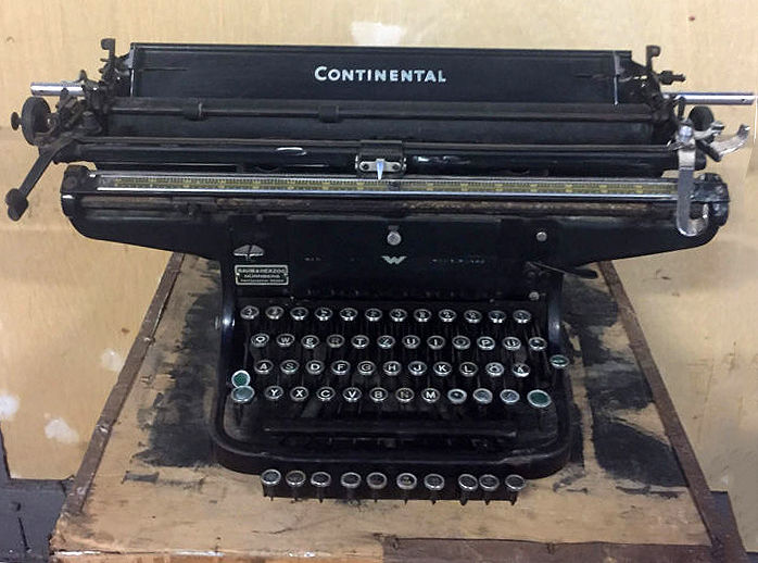 Continental - Classic (pre-war) Typewriter for A-3 size rare model, Germany, ca.1930