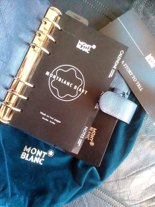 Montblanc 48002 Generation Leather Collection Leather Organizer