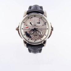 Ulysse Nardin Sonata Cathedral Dual Time -mens watch - service made 2017 - new strap