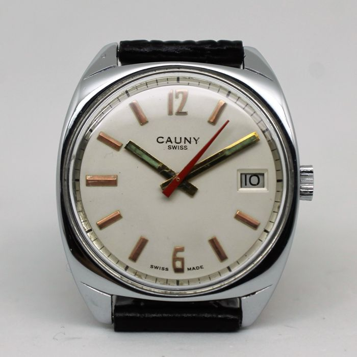 Cauny – Men's wristwatch – 1965