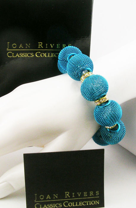 Joan Rivers Mesh Ball Stretch Bracelet