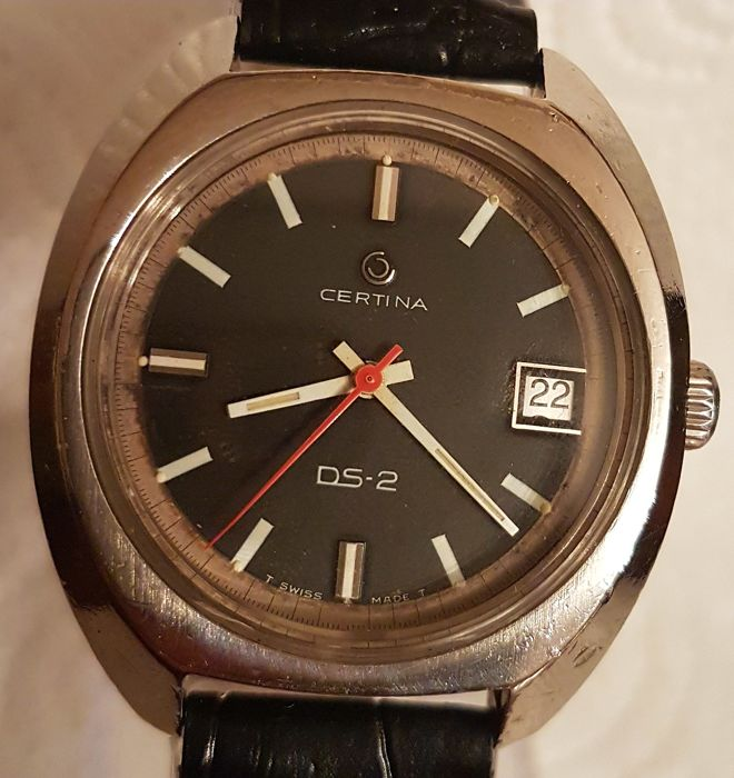 Certina - DS 2 , vintage, 1970s – men's watch
