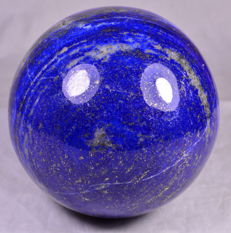 Beautiful Blue Lapis Lazuli Sphere - 94 mm - 1430 gm