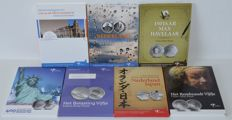 Netherlands - 5 Euro 2006 up to and including 2011 (7 different) - silver