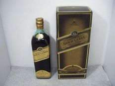 Johnnie Walker Gold Label 15 years old special release bottle - early 1990's