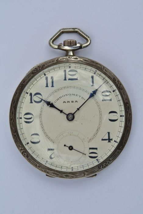 """Chronomètri ARSA"" Men's pocket watch – 1900-1920"