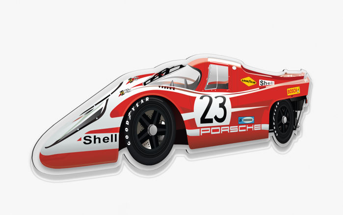 Halmo Collection Porsche 917 plexiglass model