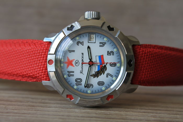 Vostok Komandirskie – Russian men's watch – mechanical