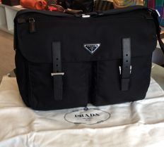 Prada — Vela Messenger Bag