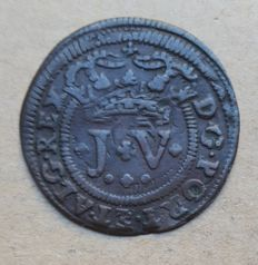 Portugal – III Réis 1720 – João V . Above Average