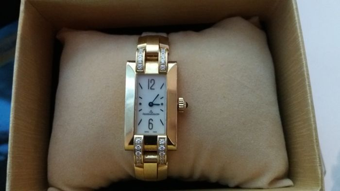 "Jaeger-LeCoultre ""Ideale"" 18 kt yellow gold ladies' watch"