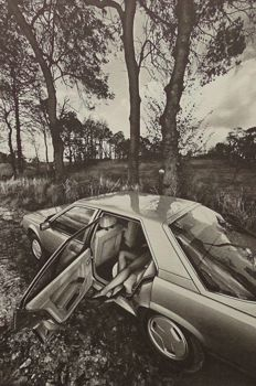 Jeanloup Sieff ( 1933-2000) - Renault 25 - 1984