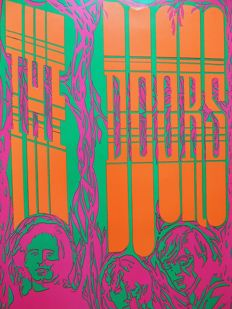 Summer of Love DOORS psychedelic Head Shop Poster 1967