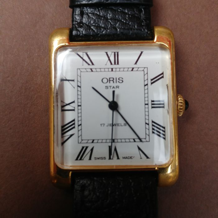 Oris Star Calibre 692 Men's Wristwatch, Switzerland, 1970s