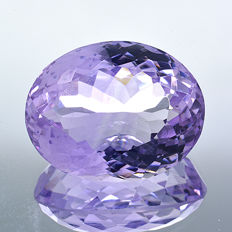 'Rose de France' amethyst – 12.99 ct – No reserve price
