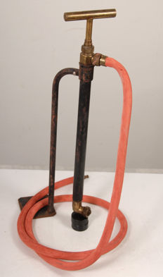 Authentic brass ship's pump, multifunctional.