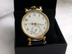 24. Revue Thommen men's marriage wristwatch 1905-1910
