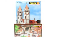 Faller H0 - 130905/180580 - Town church with square attributes