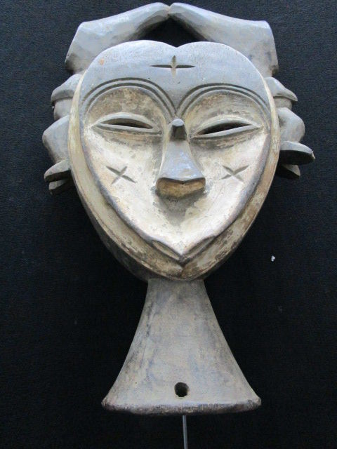Splendid KWELE or KWELLE Mask - Gabon