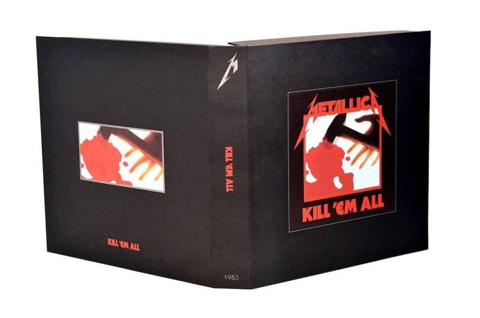 Metallica ‎– Kill 'Em All ||  5 CDs || 3 LP´s || DVD || Still in sealing || 72-page book || Limited