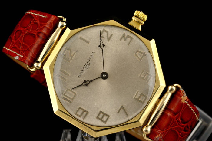 Patek Philippe octagonal - marriage watch - ca 1930