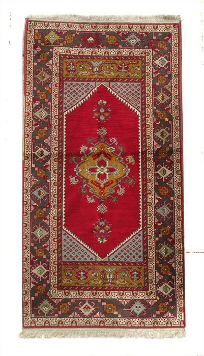 AUTHENTIC Turkish (ANATOLIA) Rug 187x97cm or 6.2 by 3.2