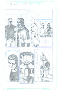 Original Art Page By Pat Olliffe - Marvel Comics - The Call #4 - Page 3 - (2003)