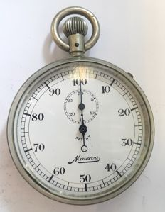 Minerva stopwatch - Switzerland around 1960