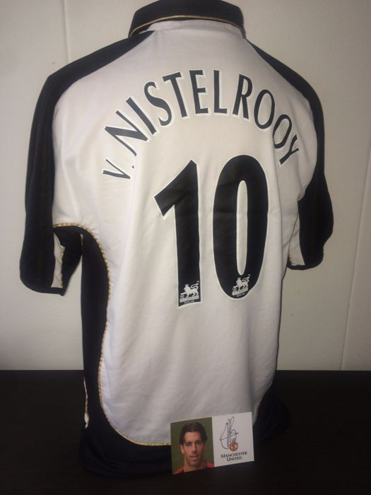 best sneakers 41ddd f521d Ruud van Nistelrooy Manchester United Centenary shirt + ...