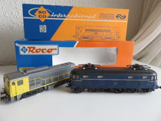 Roco H0 - 43615/4155b - E-loc and diesel loc 1000 series and 2200-2300 series (dummy) of the NS