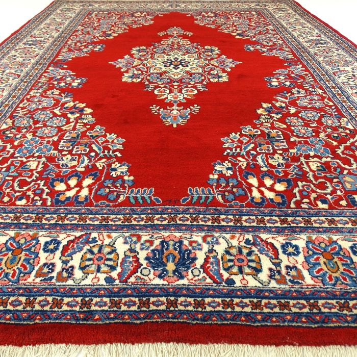 "Tabriz - 270 x 190 cm - ""Eye-catcher - Oriental carpet in mint condition"" - With certificate."