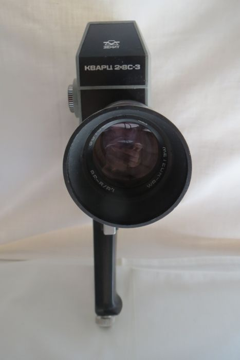 "The ""Quartz-2 × 8С-3"" ​​movie camera . 1971 - 1983 -KMZ (Krasnogorsk)  . Rarity."