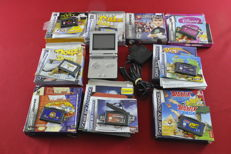Nintendo Game Boy Advance SP With 9 Games
