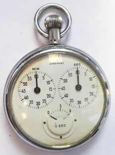 Junghans pocket stop watch yimer 1/10 seconds - Germany, 1928