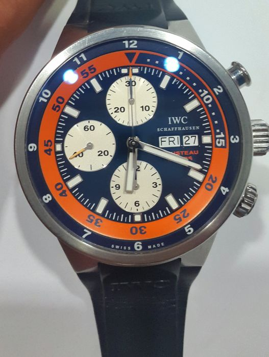 IWC Aquatimer Chronograph Cousteau Divers 2008 44MM