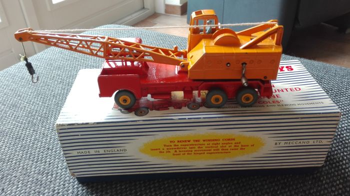 "Dinky Supertoys - Scale 1/48 - 20-Ton Lorry-Mounted Crane ""Coles"" No.972"