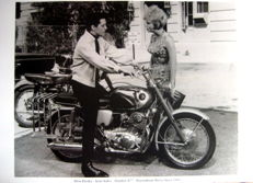 Elvis Presley - Joan Staley - Honda CB77 - Roustabout Movie 1964 (Great Photo Print)