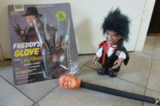 Two items from Freddy Krueger and one Dracula
