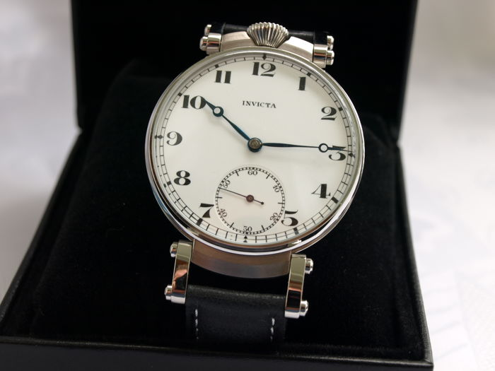 15 Invicta men's marriage wristwatch 1905-1910