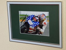 Nicky Hayden (RIP)  - Worldchampion MotoGP 2006 - hand signed framed photo + COA