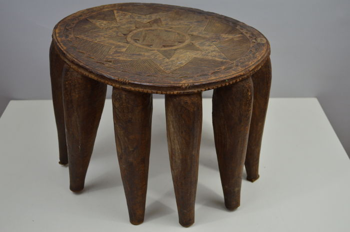 Old Tribal Stool - NUPE - Nigeria