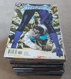 Collection Of DC Comics – Nightwing Vol 1 – Large Continuous Unbroken Run – Issues 76-153 – x78 SC