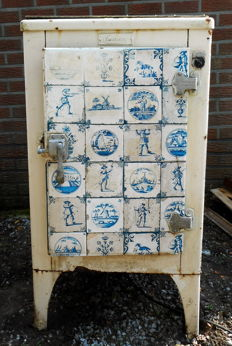Old Electrolux refrigerator, Belgium, begin 20th century