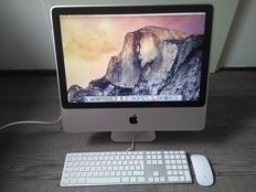 "Apple iMac 20"" - Intel C2D 2.4Ghz, 4GB RAM, 1TB HD - model nr A1224 - with Apple keyboard & wireless mouse"