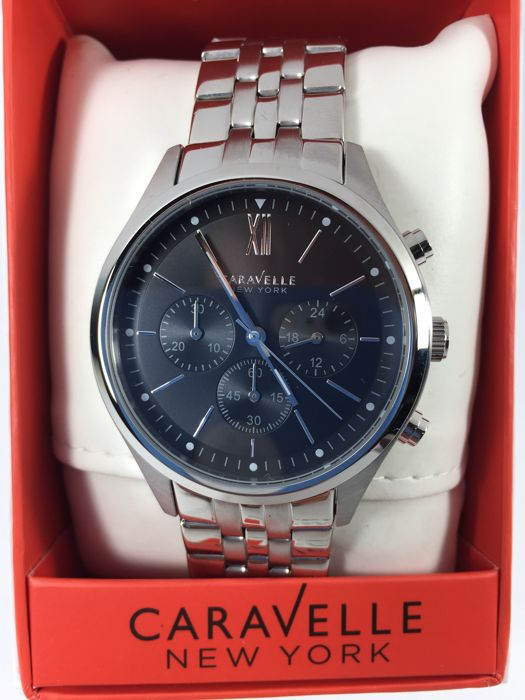 Caravelle New York 43A133 men's wristwatch.